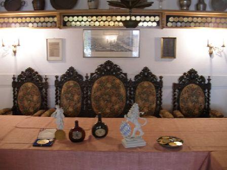 Barockzimmer-barockstuehle in