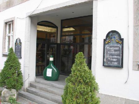 Eingang-weingalerie in Weinatelier