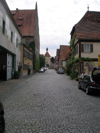 Hauptstrasse-sommerhausen-turm in