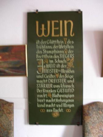 Rueckert-wein in Weinatelier