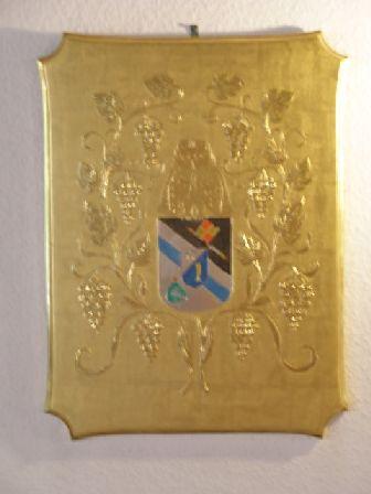 Wappen-barockzimmer in Räumlichkeiten